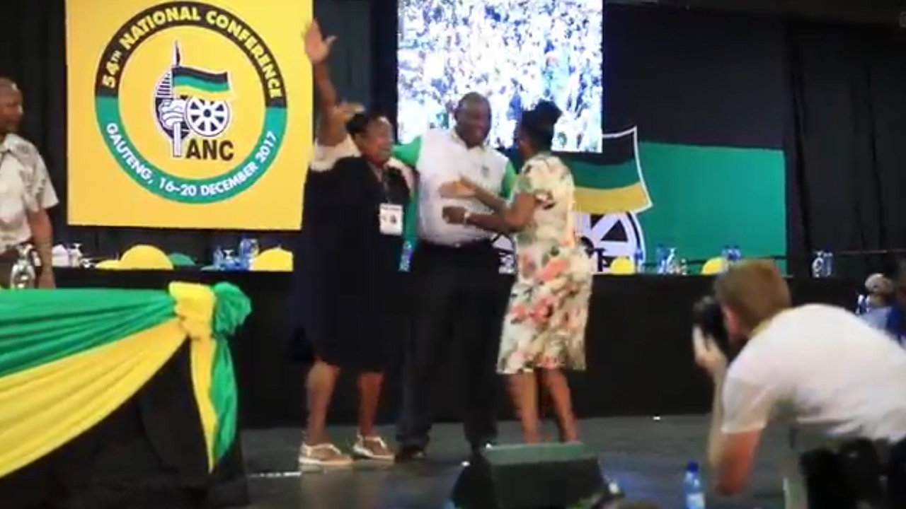 Ramaphosa elected as new leader of South Africa's ANC
