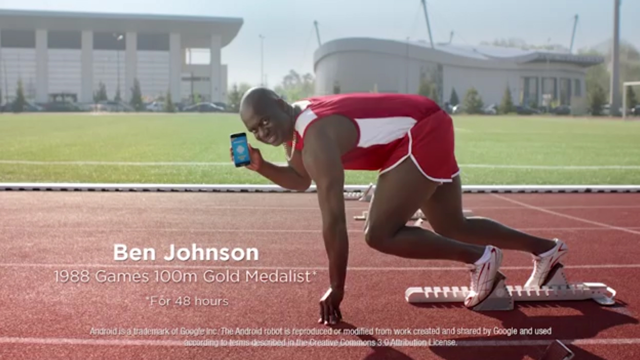 Anger over Sportsbet ad campaign featuring Ben Johnson