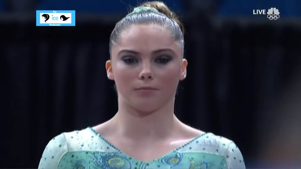 McKayla Maroney competes in August 2014