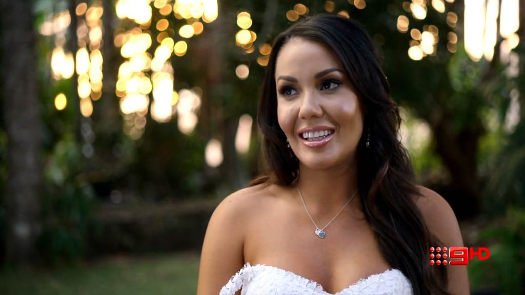 Married At First Sight's Davina Rankin has over 200,000 followers on Instagram