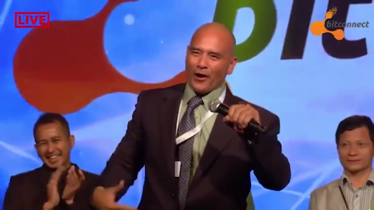 Mr Carlos spruiks BitConnect