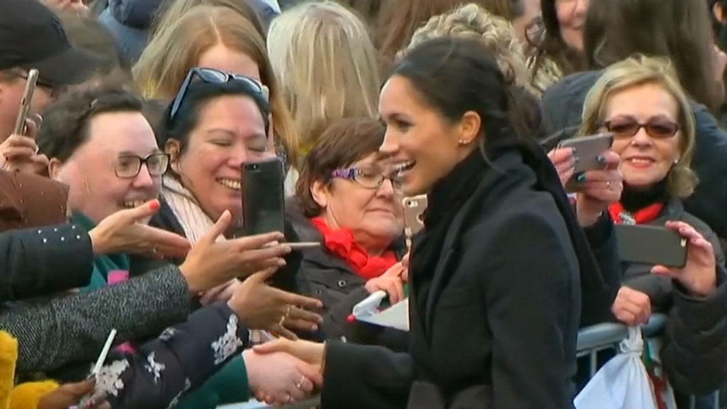 Royal couple visits Cardiff