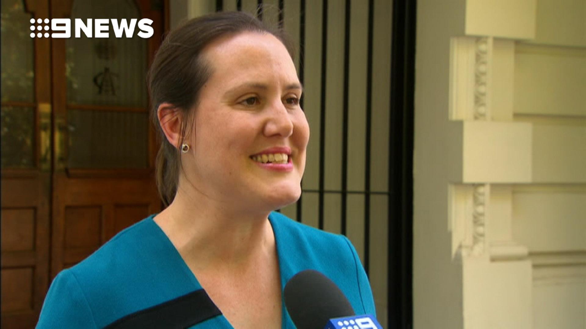 Kelly O'Dwyer congratulates Jacinda Ardern on pregnancy announcement