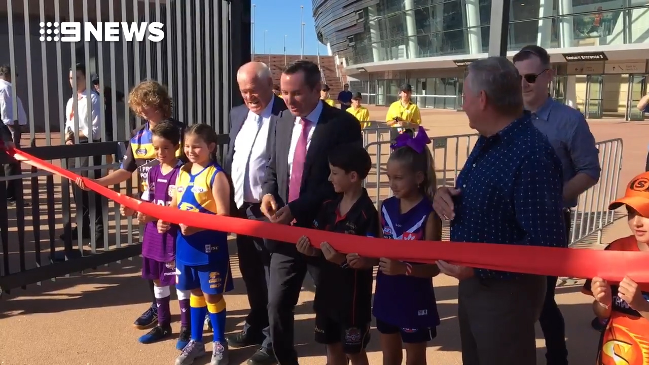 New Perth stadium opens