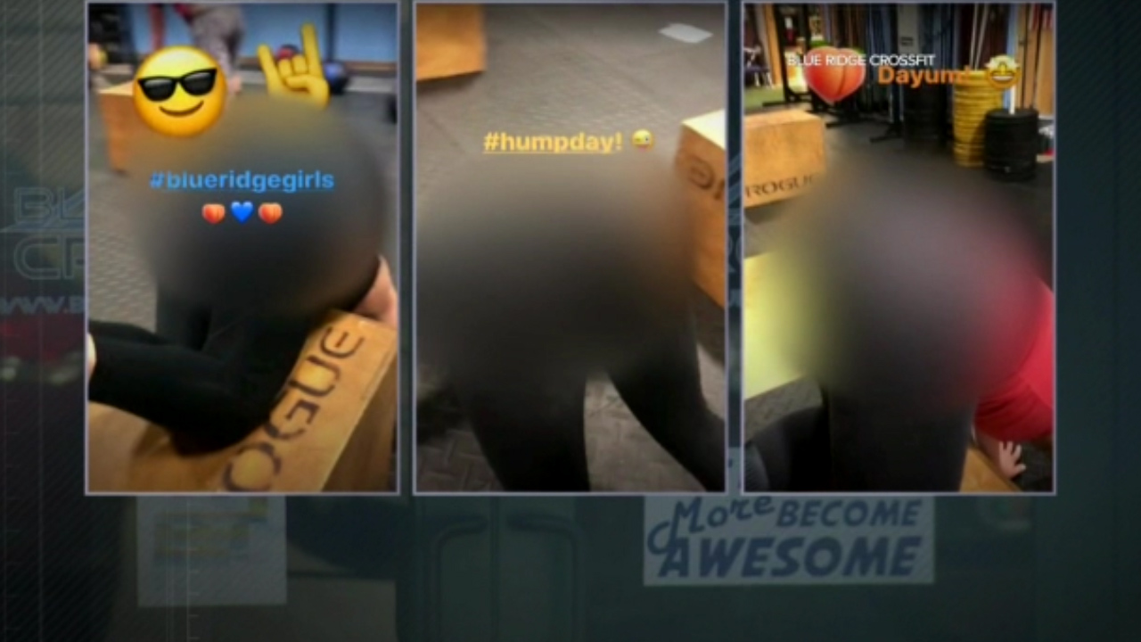 Gym workout of women secretly taped and posted on social media