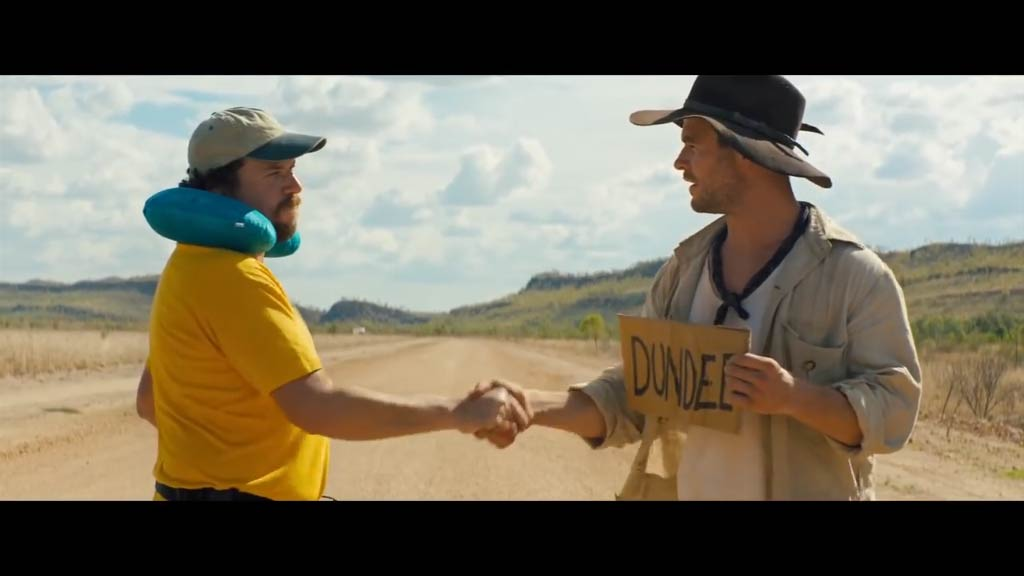 Chris Hemsworth and Danny McBride star in 'Dundee'