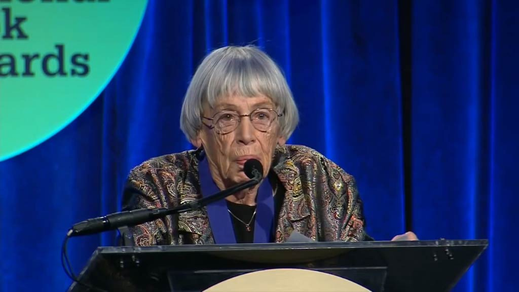 Beloved sci-fi author Ursula K Le Guin dead at 88