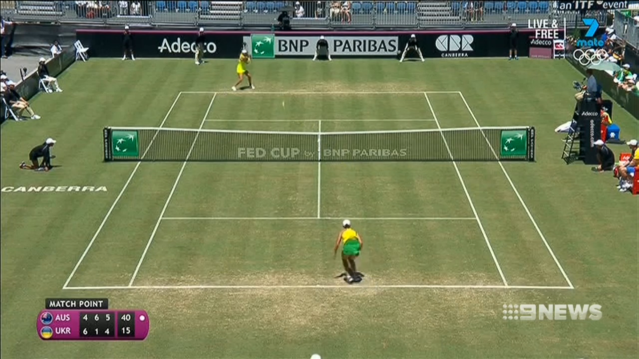 Australia level In Fed Cup