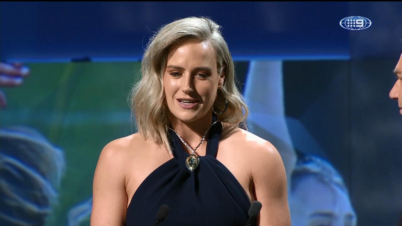 Perry claims Belinda Clark Award