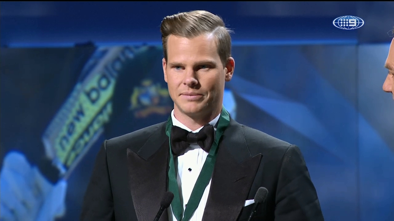 Smith wins Allan Border Medal