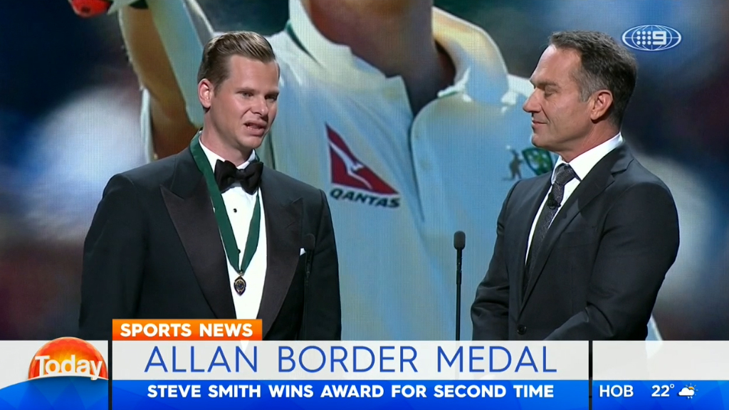 Smith wins Border medal again