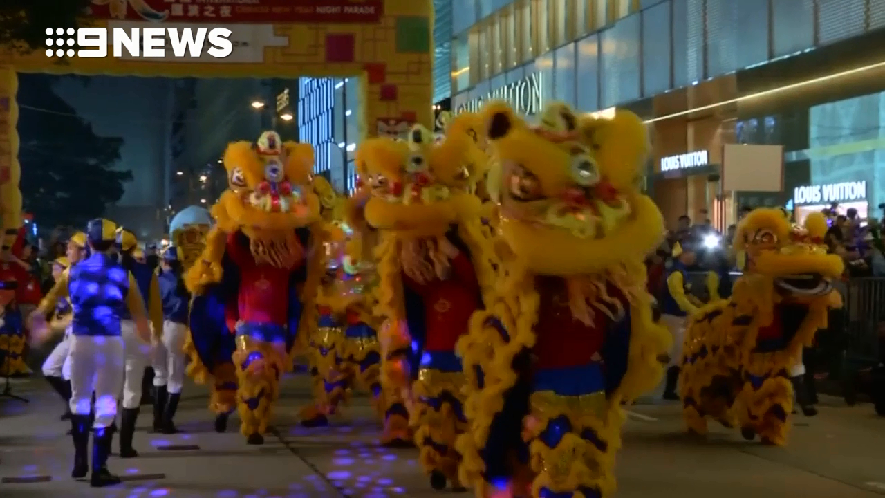 Lunar New Year celebrations in China