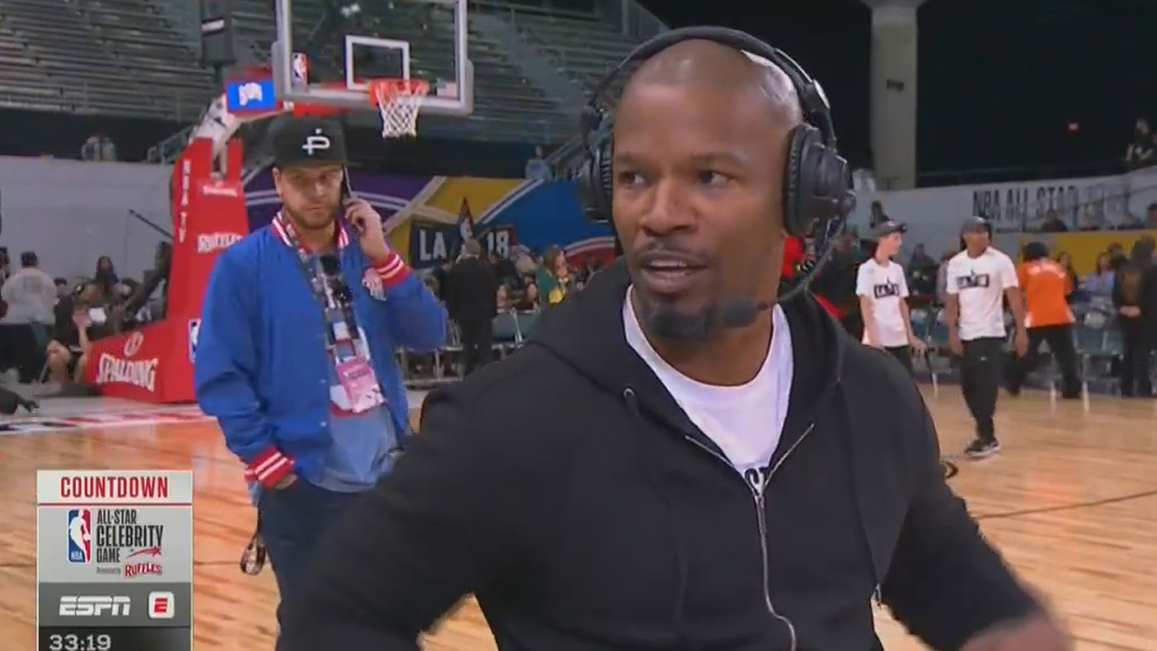 Jamie Foxx storms off interview when asked about Katie Holmes