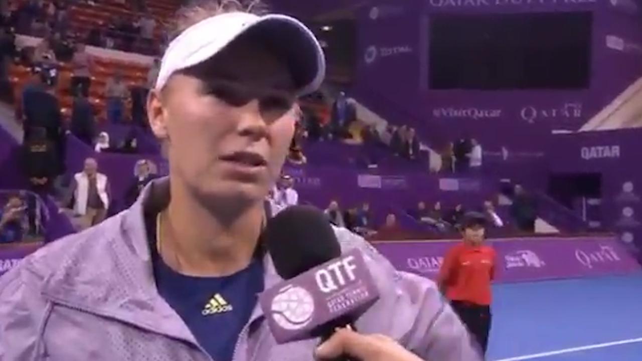 Wozniacki rips into Niculescu