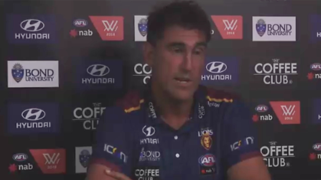 Lions coach calls out 'terrible' lighting for AFLW match