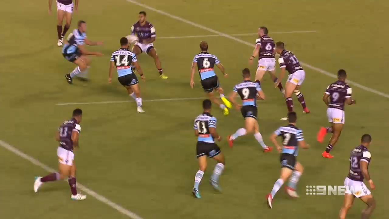 Moylan struggles in Cronulla Sharks debut
