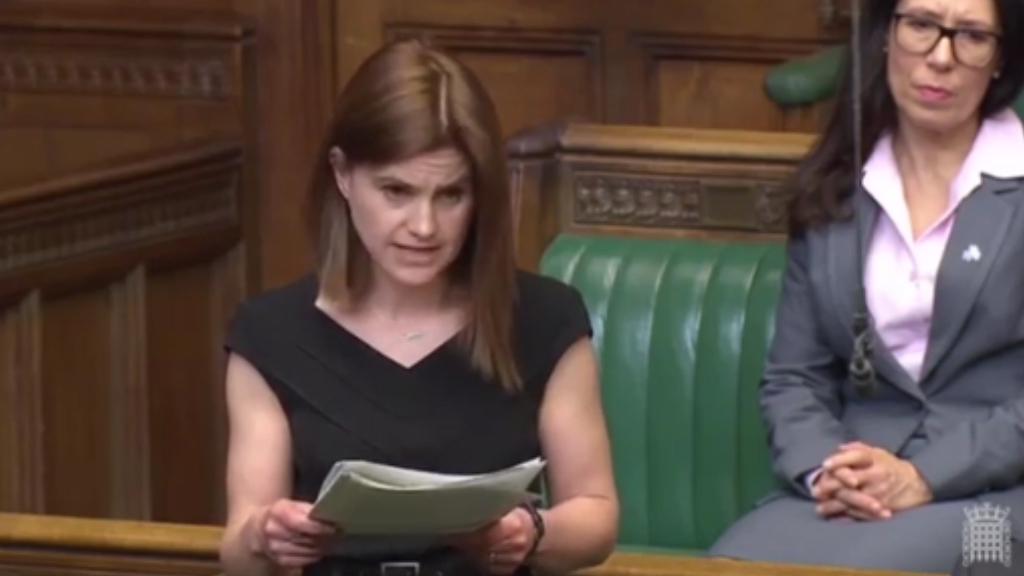Jo Cox speaks in UK parliament in 2016