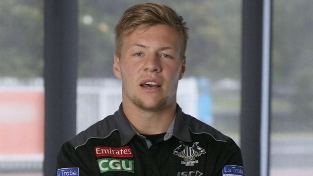 Collingwood player Jordan De Goey concedes self-imposed alcohol ban
