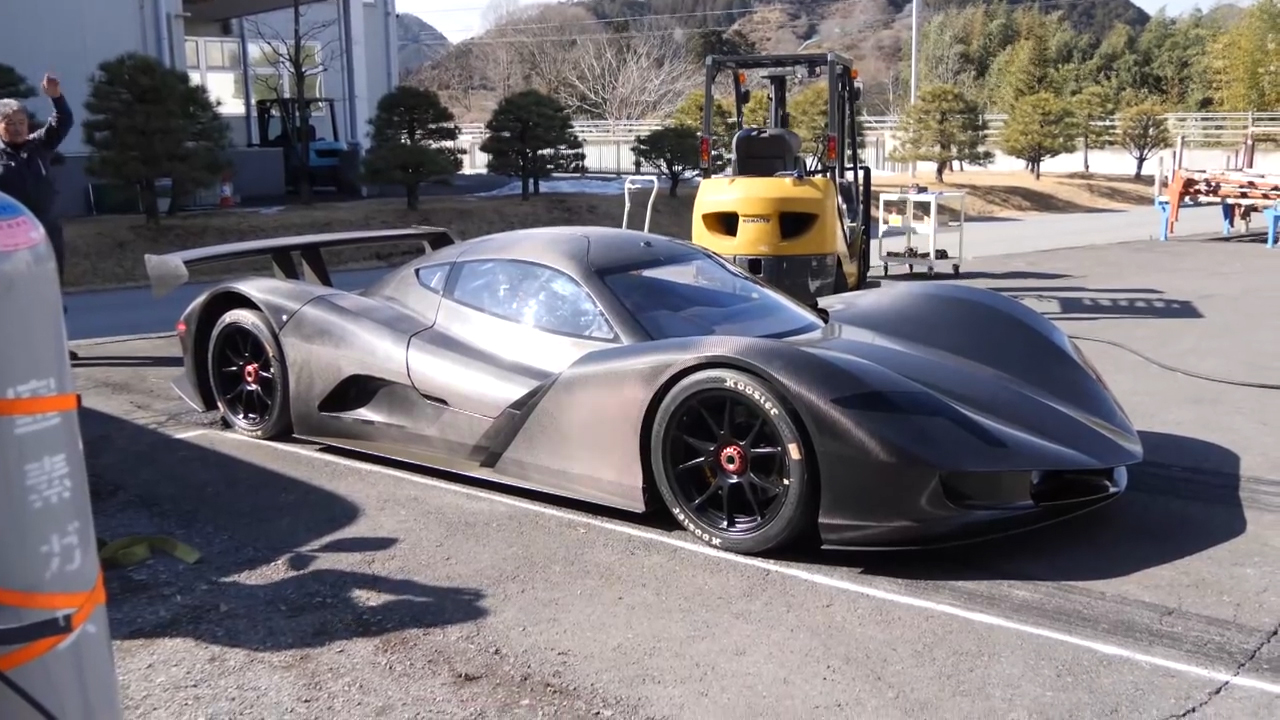 Electric Japanese supercar does 0-100 km/h in 1.9 seconds