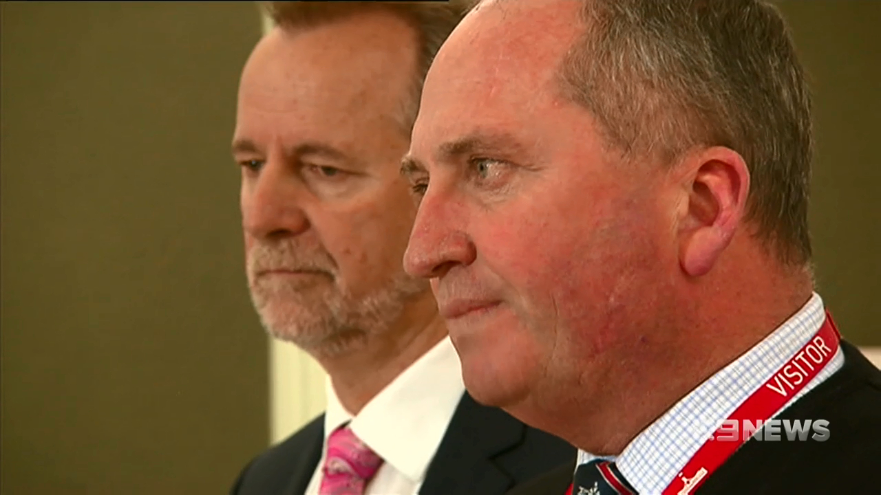 WA Nationals think Barnaby should go