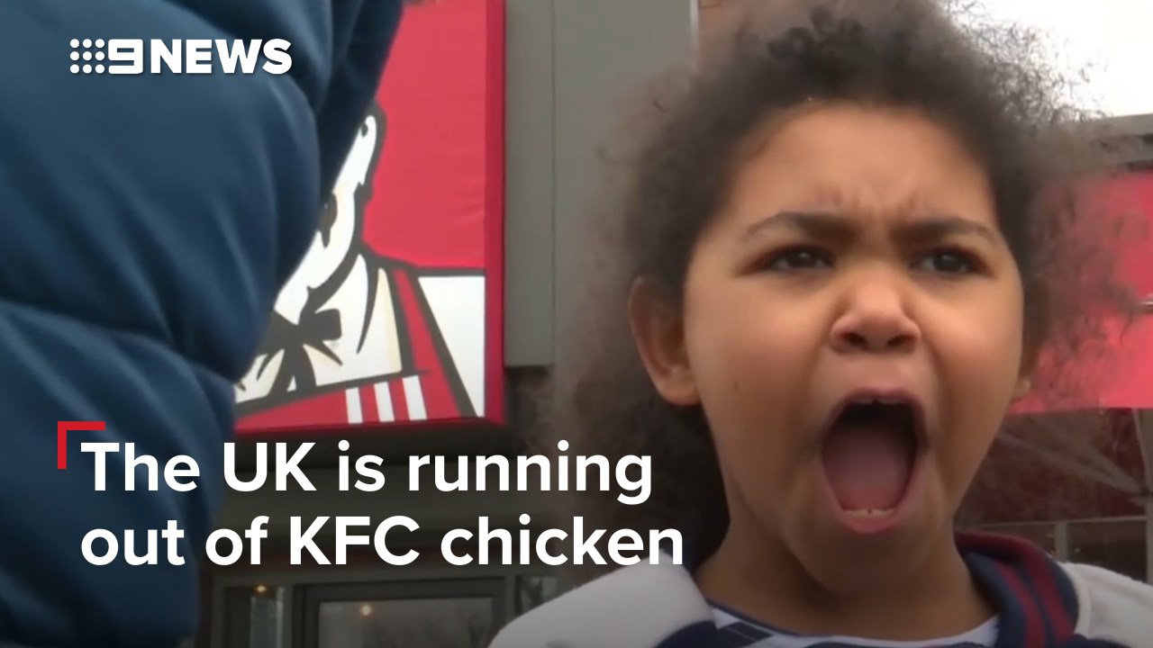 The UK is running out of KFC chicken