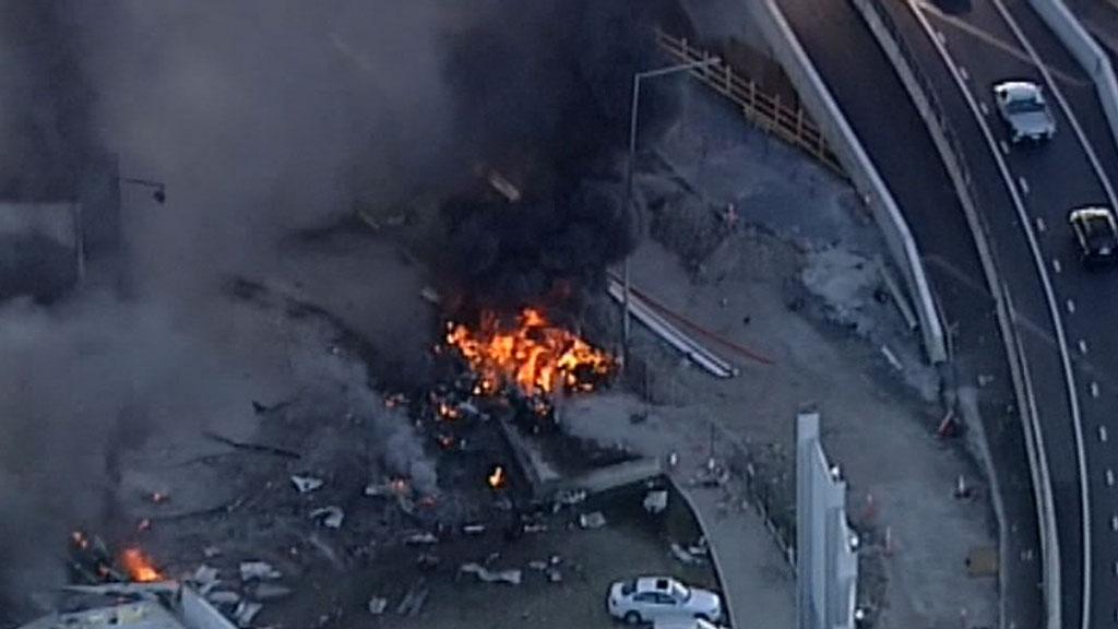 Anniversary of DFO Plane crash in Essendon