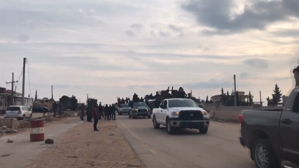 Pro-Assad forces arrive in Afrin