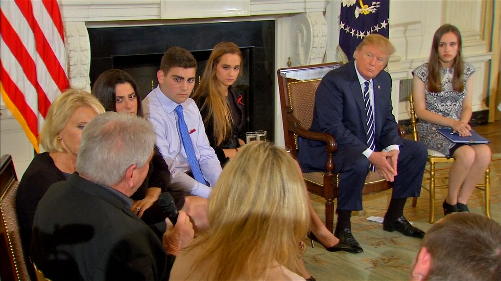 Trump meets with school shooting survivors