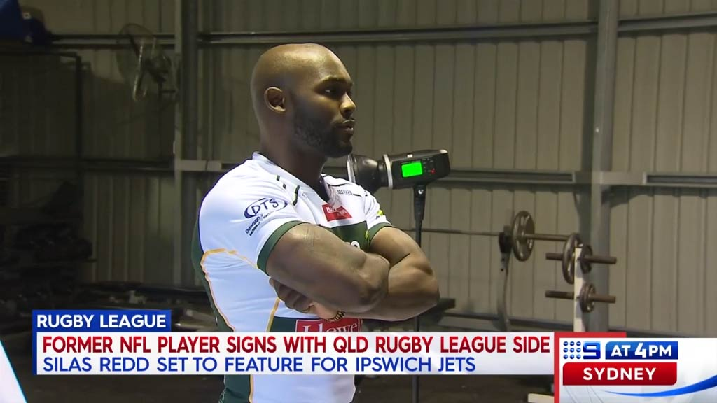 Rugby league club recruit former NFL running back