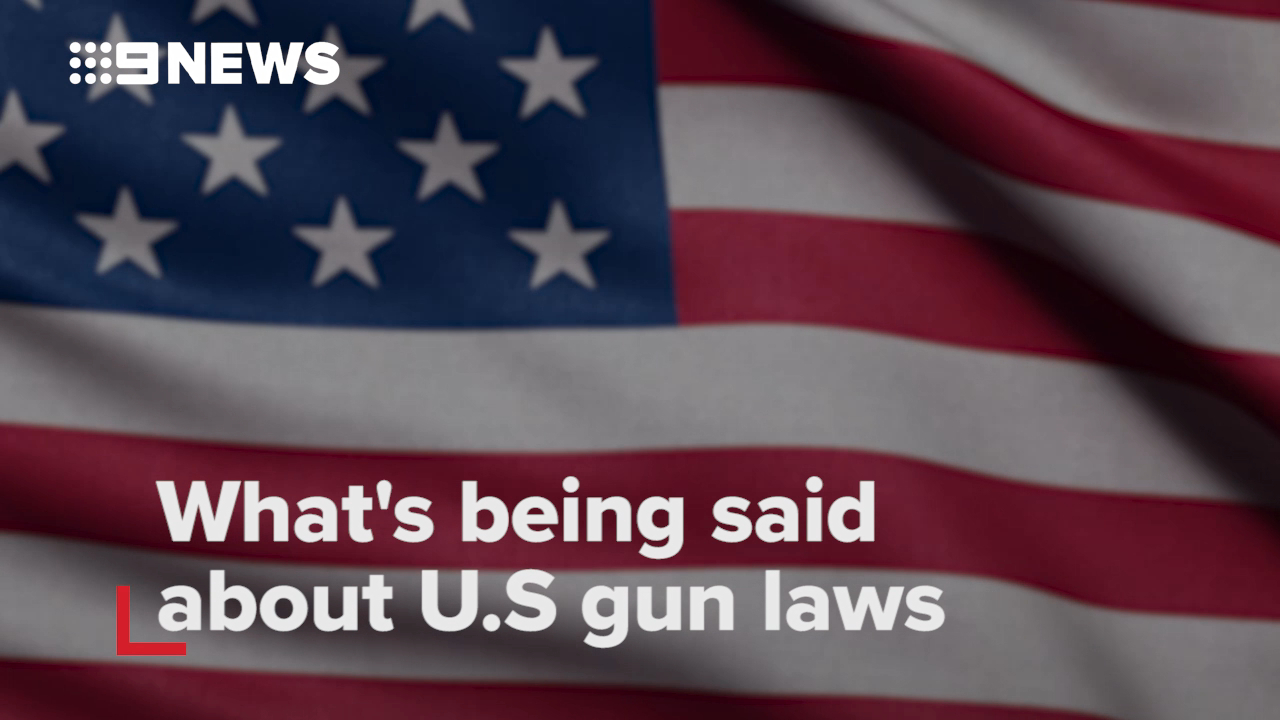 What's being said about U.S gun laws?