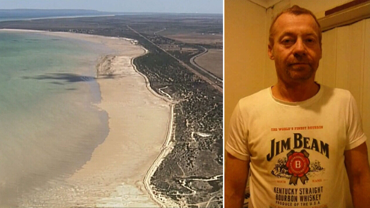 Body of father discovered on remote beach