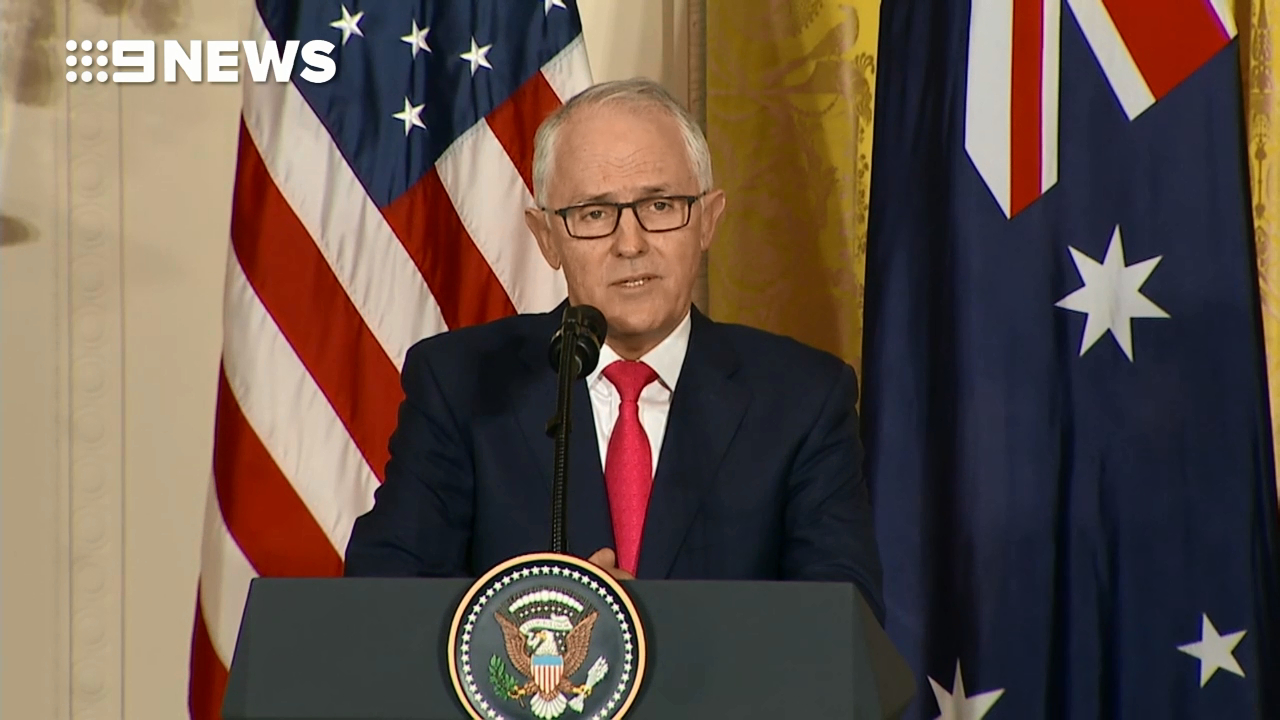 Malcolm Turnbull won't give any 'political advice' on guns to US