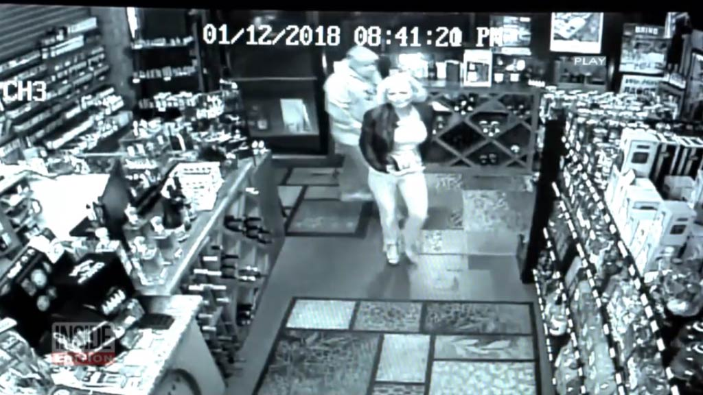 CCTV captures Kathleen West's final moments