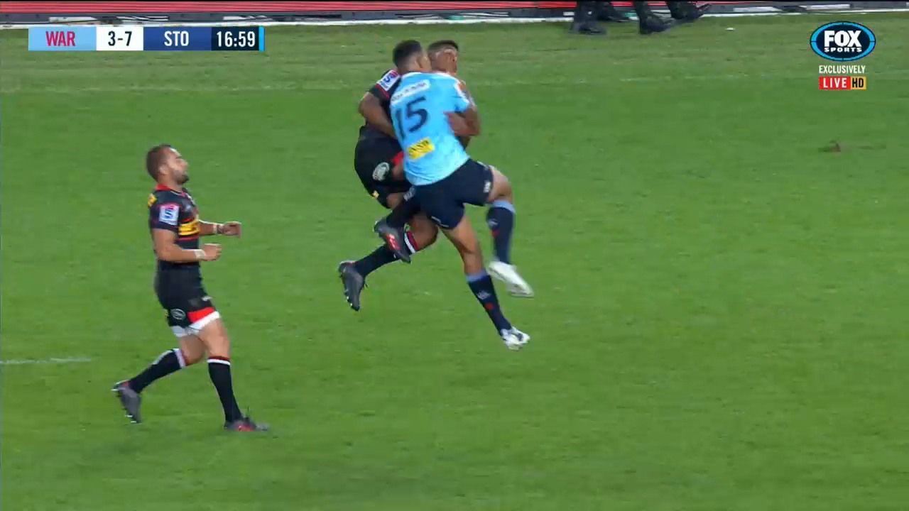Folau flies high