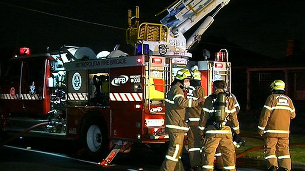 Melbourne house fire