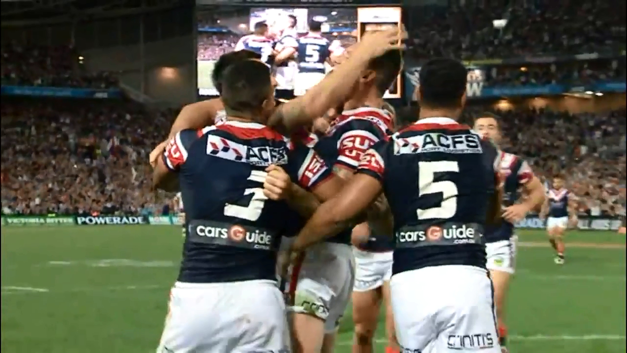 Williams' magic sparks Roosters comeback
