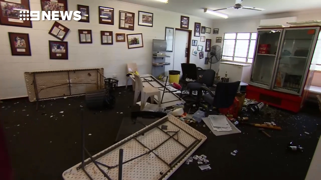 Volunteer-run cricket club trashed