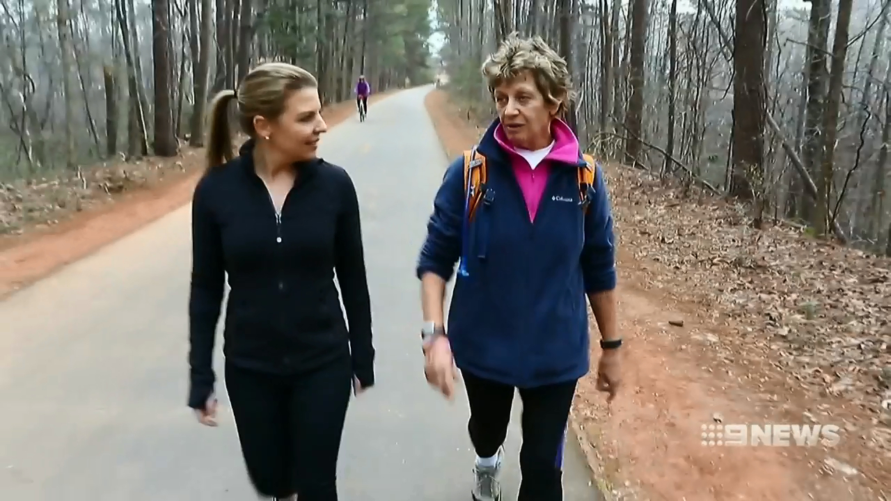 Aussie grandmother's mission to walk across the US
