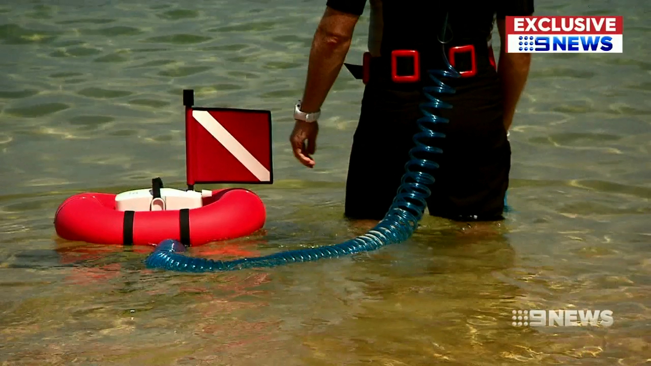 New invention makes scuba diving easier