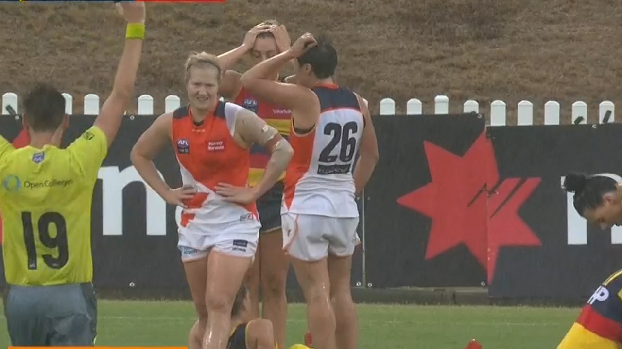 TODAY: Giants and Crows play out first AFLW draw
