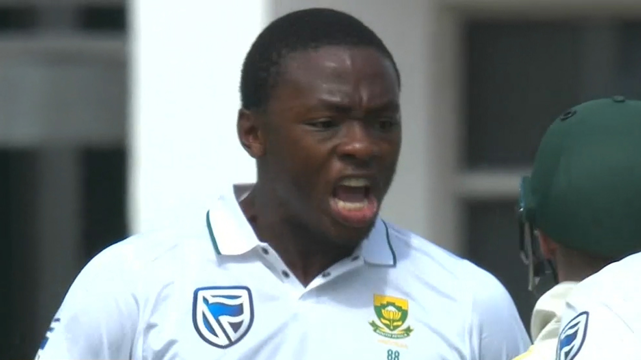 Rabada outside chance to play in third Test