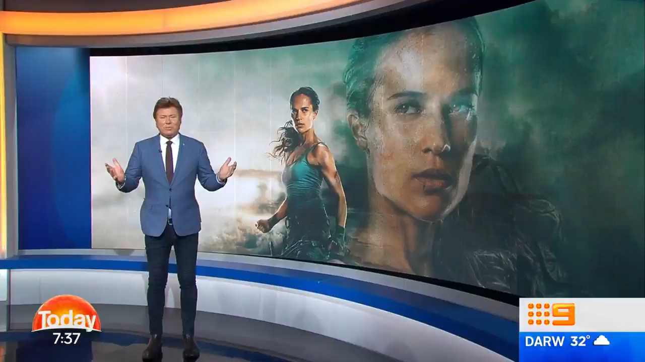 Richard Wilkins reviews Tomb Raider on TODAY