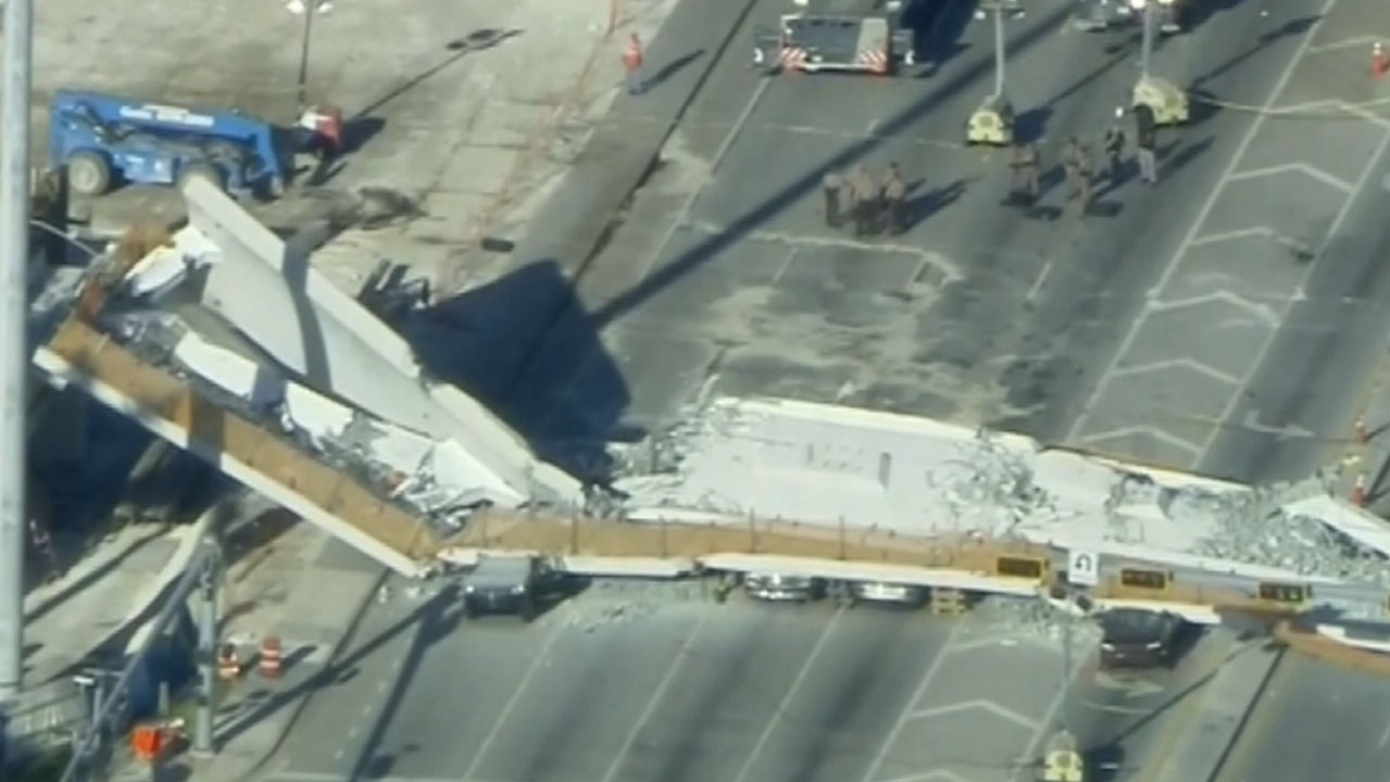 More deaths expected from Florida bridge collapse