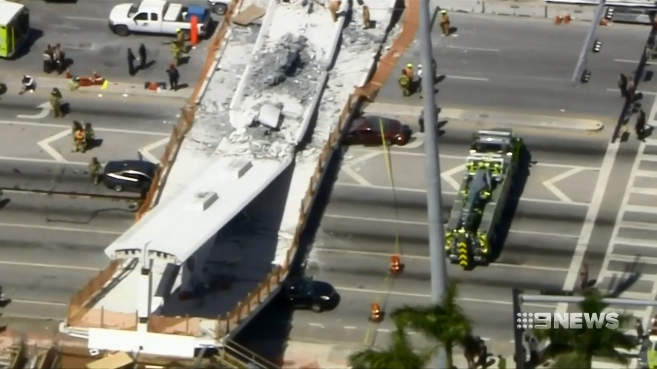 Warning was given two days before Florida bridge collapse