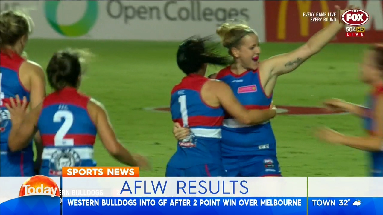AFLW grand finalists decided