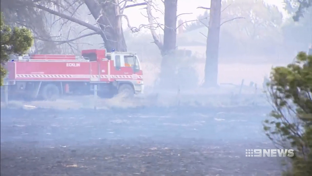 Out-of-control fires rip through Victorian communities