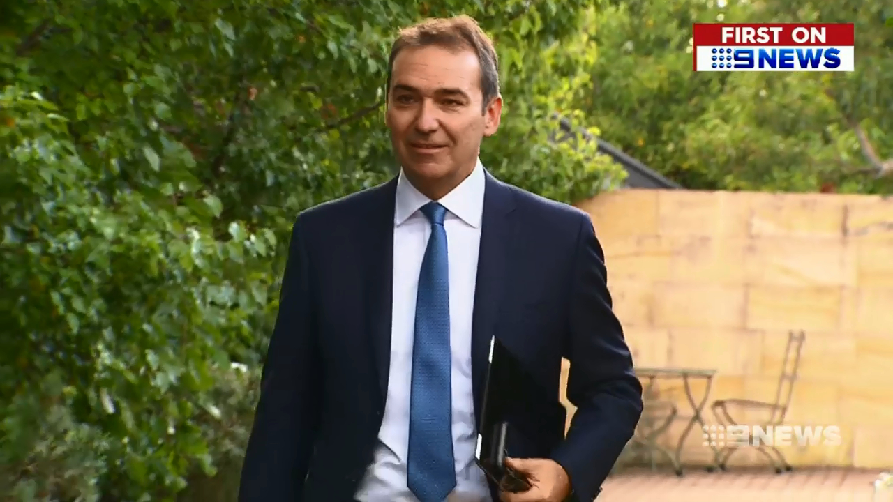 Premier-elect Steven Marshall prepares to step into the top job
