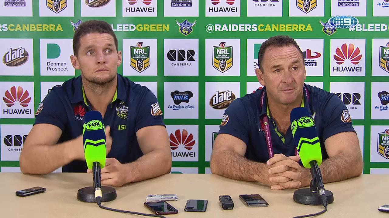 NRL Press Conference: Canberra Raiders