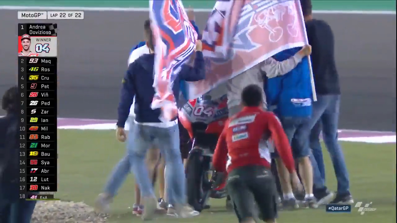 Dovizioso takes home Qatar MotoGP