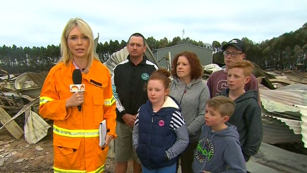 Family loses home in devastating fires